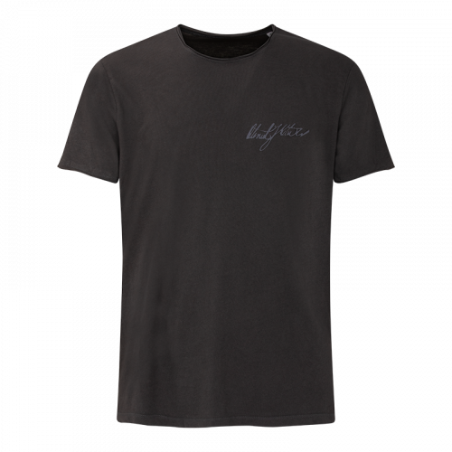 OTENIEL JORGE Man T-shirt Signature - Dark Grey