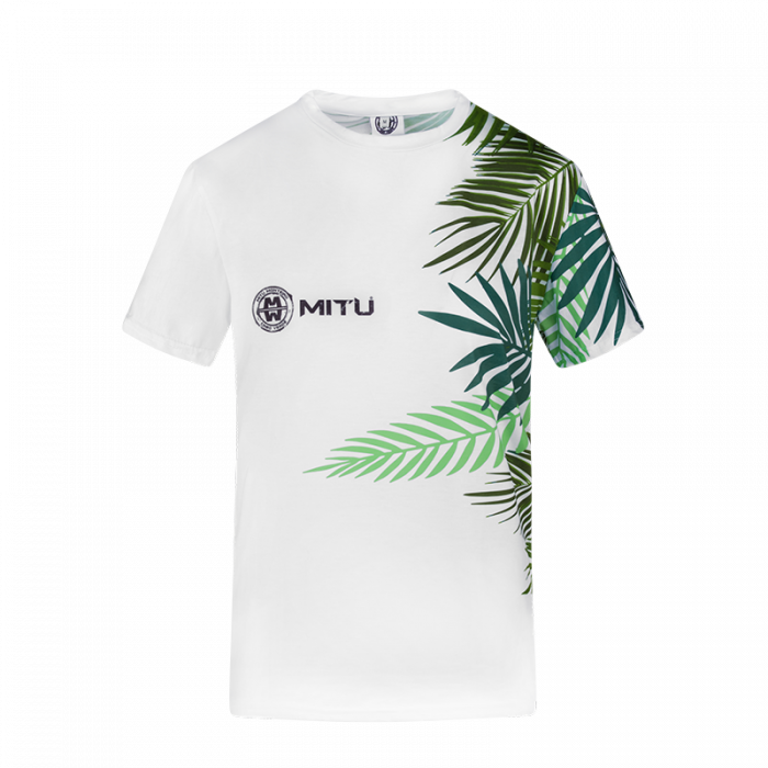 tshirt NATURE LADY - WHITE FRONT