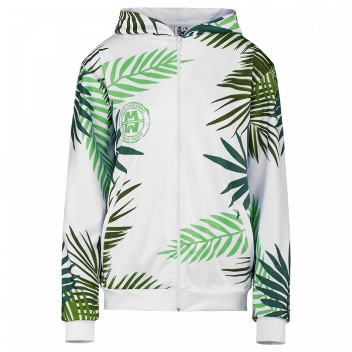 HOODIE NATURE WHITE woman front