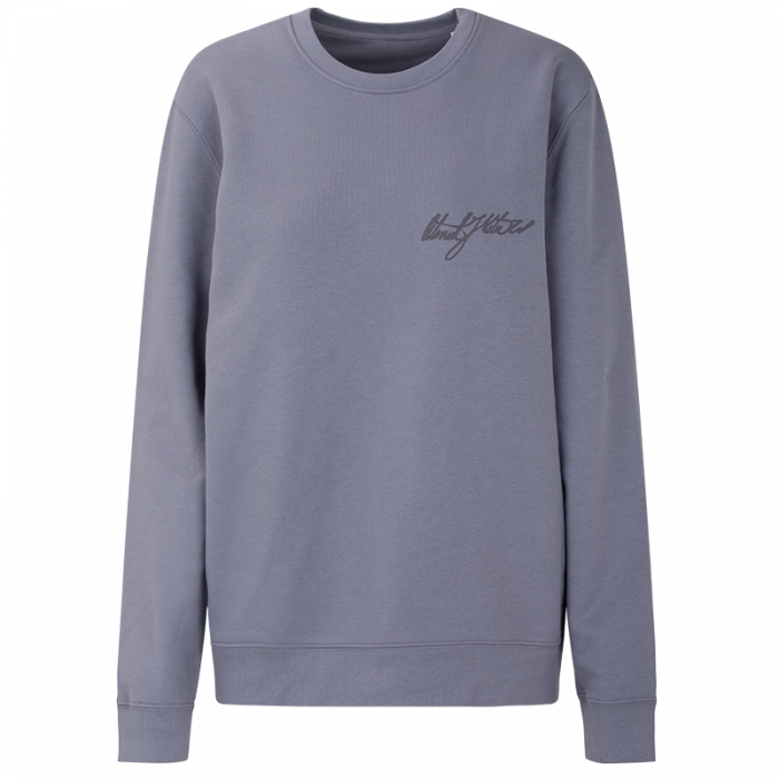 Lady sweatshirt Oteniel Jorge - blue grey
