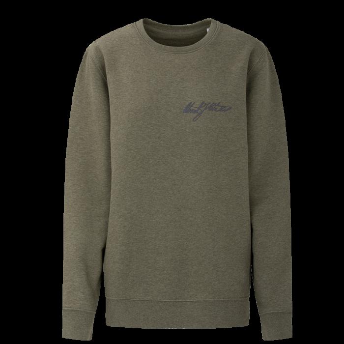 Lady sweatshirt Oteniel Jorge - green melange