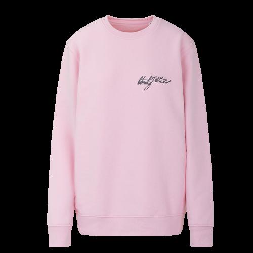 Lady sweatshirt Oteniel Jorge - pastel pink